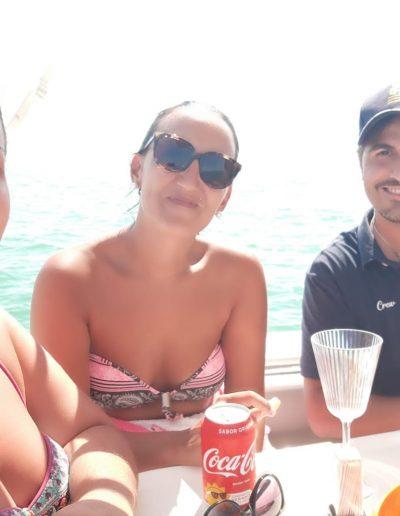 Cumpleaños barco Cadiz