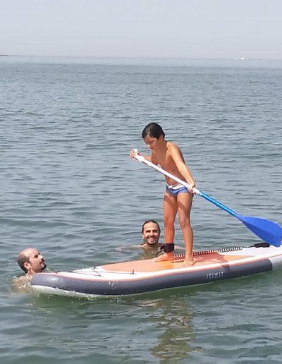 Paddle surf bahia cadiz