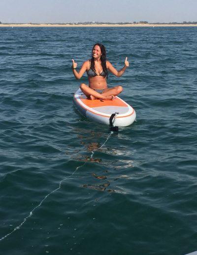 Paddle surf paseo barco Cadiz