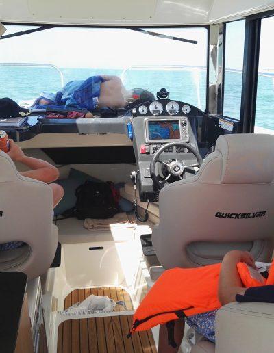 Paseo barco niños