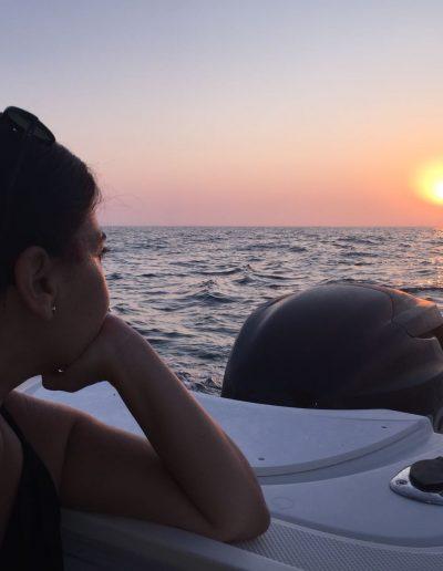 Sunset barco