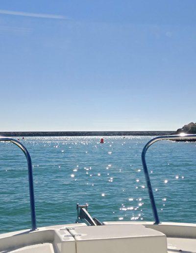 Paseo barco bahia cadiz
