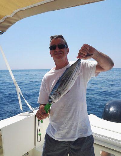 Pesca currican alistado